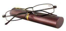 Dioptrické brýle v pouzdru Vizzini 03-0084-H01/ +2,25 BROWN