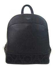 Černý elegantní dámský batoh / kabelka 5234-TS