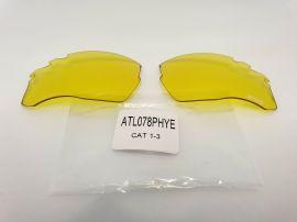 Náhradní čočky na brýle R2 CROWN ATL078PHYE fotochromatické Cat.1-3