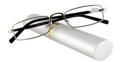 Dioptrické brýle v pouzdru Effect 555/ +1,25 SILVER