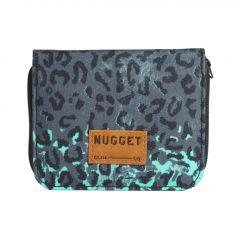 Pěněženka Nugget Alicia Wallet B - Leopard Mint