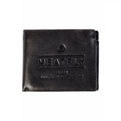 Seaway Leather Wallet A - Black