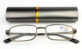 Dioptrické brýle v pouzdru Vizzini 03-0084-H01/ +2,25 silver