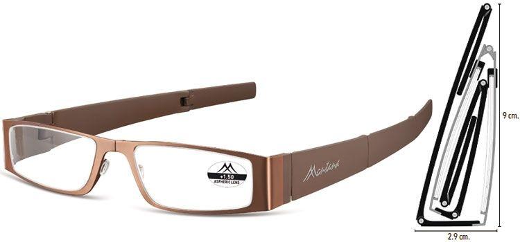 MONTANA EYEWEAR SKLÁDACÍ dioptrické brýle MR26C +2,50
