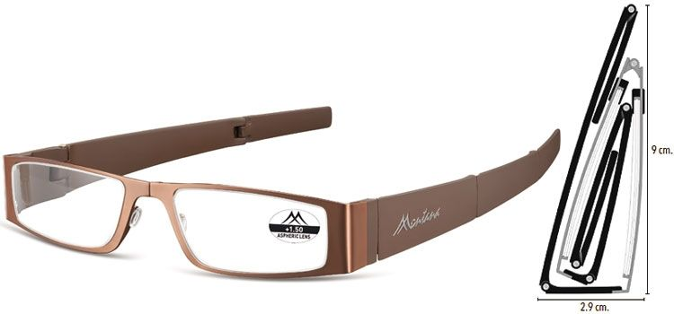 MONTANA EYEWEAR SKLÁDACÍ dioptrické brýle MR26C +1,00