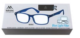 Brýle na počítač BLF BOX 83C BLUE +2.00