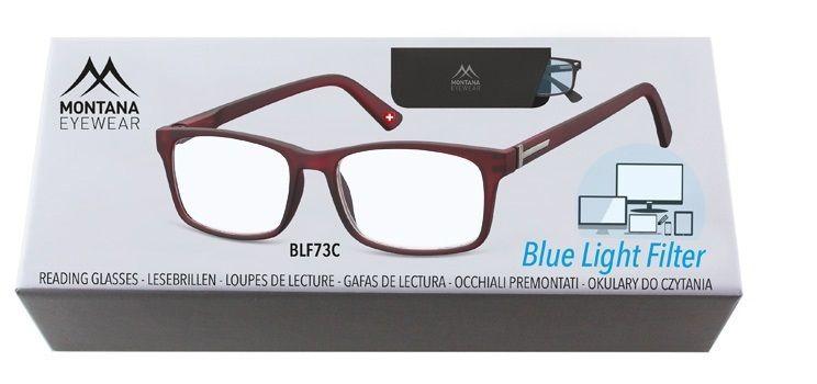 MONTANA EYEWEAR Brýle na počítač BLF BOX 73C +3,50