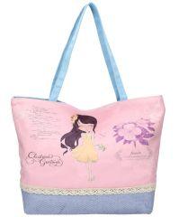 Sweet & Candy Velká plážová taška s potiskem M1
