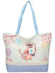 Sweet & Candy Velká plážová taška s potiskem M3