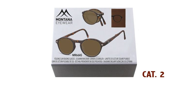 MONTANA EYEWEAR SKLÁDACÍ dioptrické brýle BOX66AS+1,00