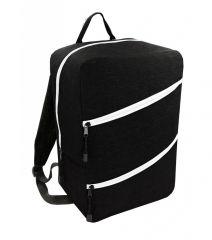 Příruční zavazadlo - batoh pro RYANAIR 40x25x20 BLACK-WHITE