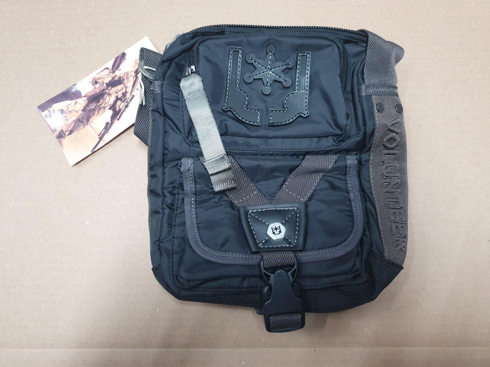 taška přes rameno VOLUNTEER černá VA-1490-16