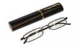 Dioptrické brýle v pouzdru Koko 2134/ +0,75 tmavě-šedé