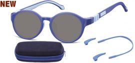 Dětské sluneční brýle (6-8let) flexibilní SK8A obroučky+ příslušenství + pouzdro