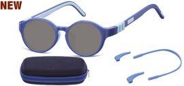 Dětské sluneční brýle (6-8let) flexibilní SK7A obroučky+ příslušenství + pouzdro