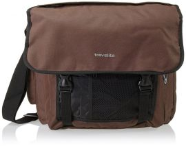 Travelite Basics Messenger Bag Brown