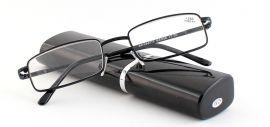 Dioptrické brýle v pouzdru Respect 008/ +3,25 black