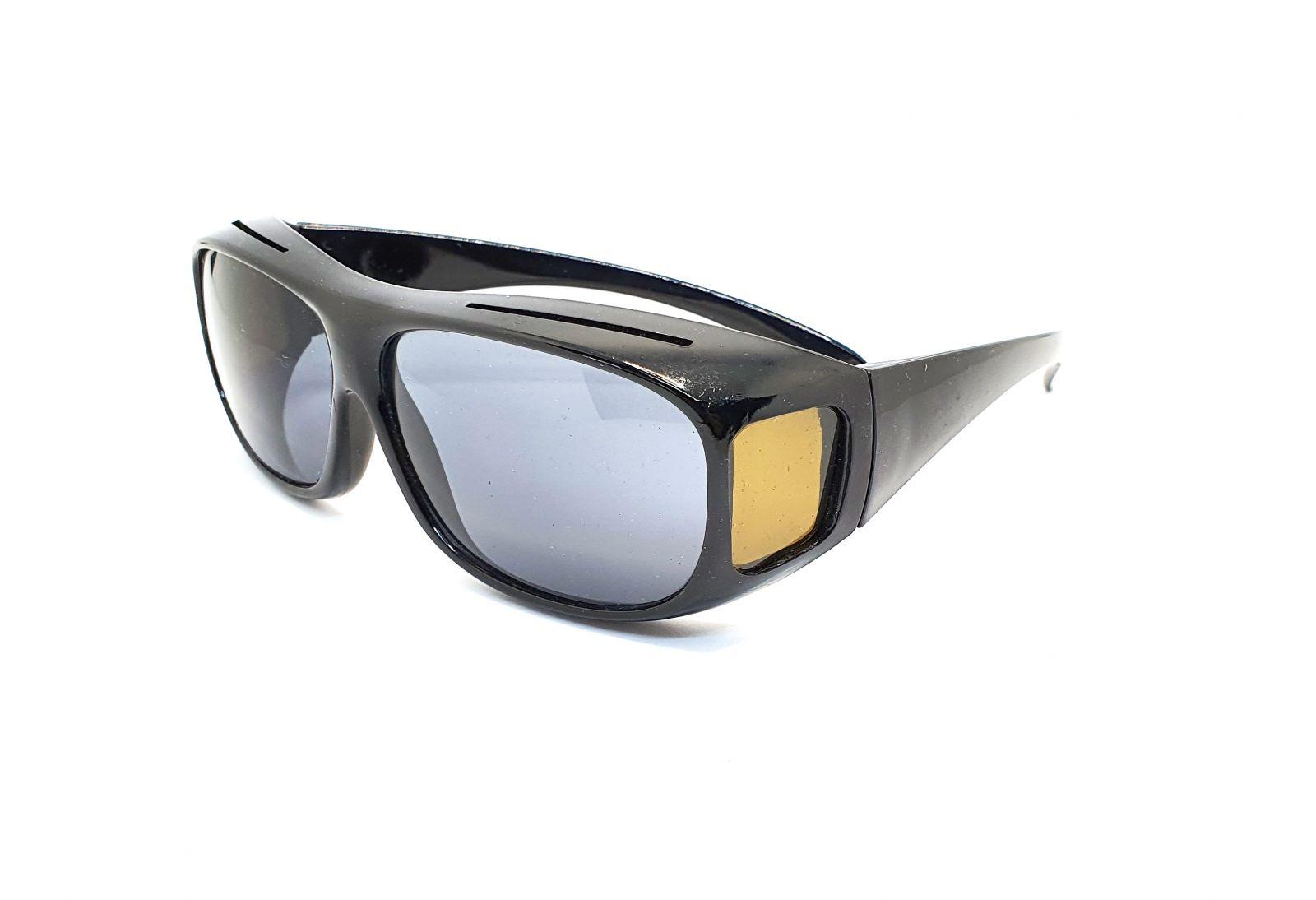 Sluneční brýle na dioptrické brýle černé