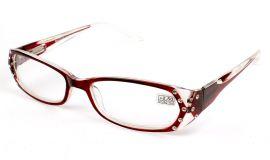 Dioptrické brýle 0039/ +2,25 červené