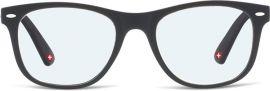 Brýle na počítač BLF BOX 67 BLACK bez dioptrií MONTANA EYEWEAR E-batoh