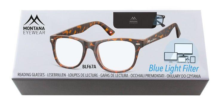 Brýle na počítač BLF BOX 67A bez dioptrií