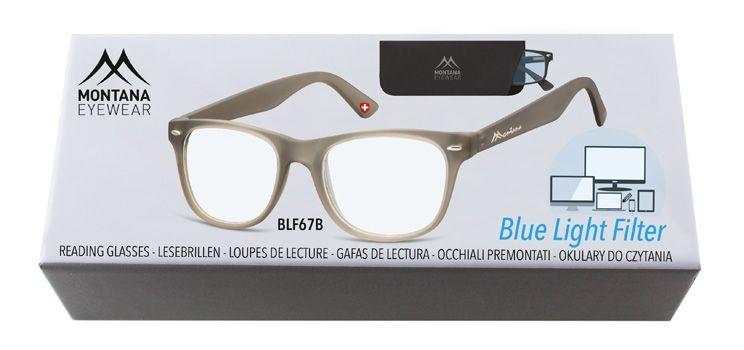 Brýle na počítač BLF BOX 67B GREY +2,00
