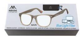 Brýle na počítač BLF BOX 67B GREY bez dioptrií