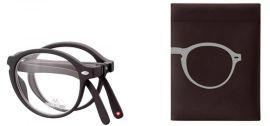 SKLÁDACÍ dioptrické brýle BOX66 BLACK+1,00 MONTANA EYEWEAR E-batoh