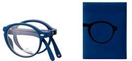 SKLÁDACÍ dioptrické brýle BOX66B BLUE +2,50 MONTANA EYEWEAR E-batoh