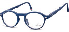 SKLÁDACÍ dioptrické brýle BOX66B BLUE +3,50 MONTANA EYEWEAR E-batoh
