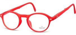 SKLÁDACÍ dioptrické brýle BOX66C RED +3,00 MONTANA EYEWEAR E-batoh