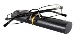 Dioptrické brýle v pouzdru Effect 555/ +3,75 BLACK