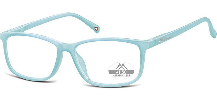 MONTANA EYEWEAR Dioptrické brýle MR62E Milky Blue/ +2,00 flex