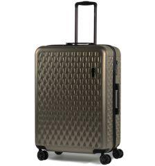 Cestovní kufr ROCK TR-0192/3-L ABS/PC - zlatá