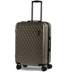 Cestovní kufr ROCK TR-0192/3-M ABS/PC - zlatá