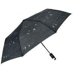 J.S ONDO Automatický deštník černý