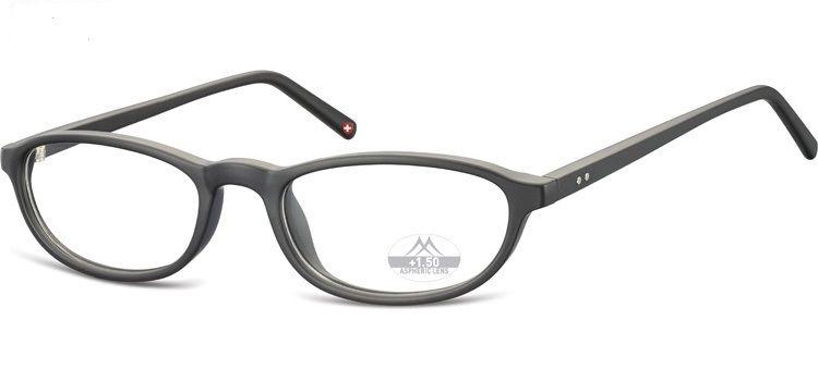 MONTANA EYEWEAR Dioptrické brýle MR57 BLACK+3,50