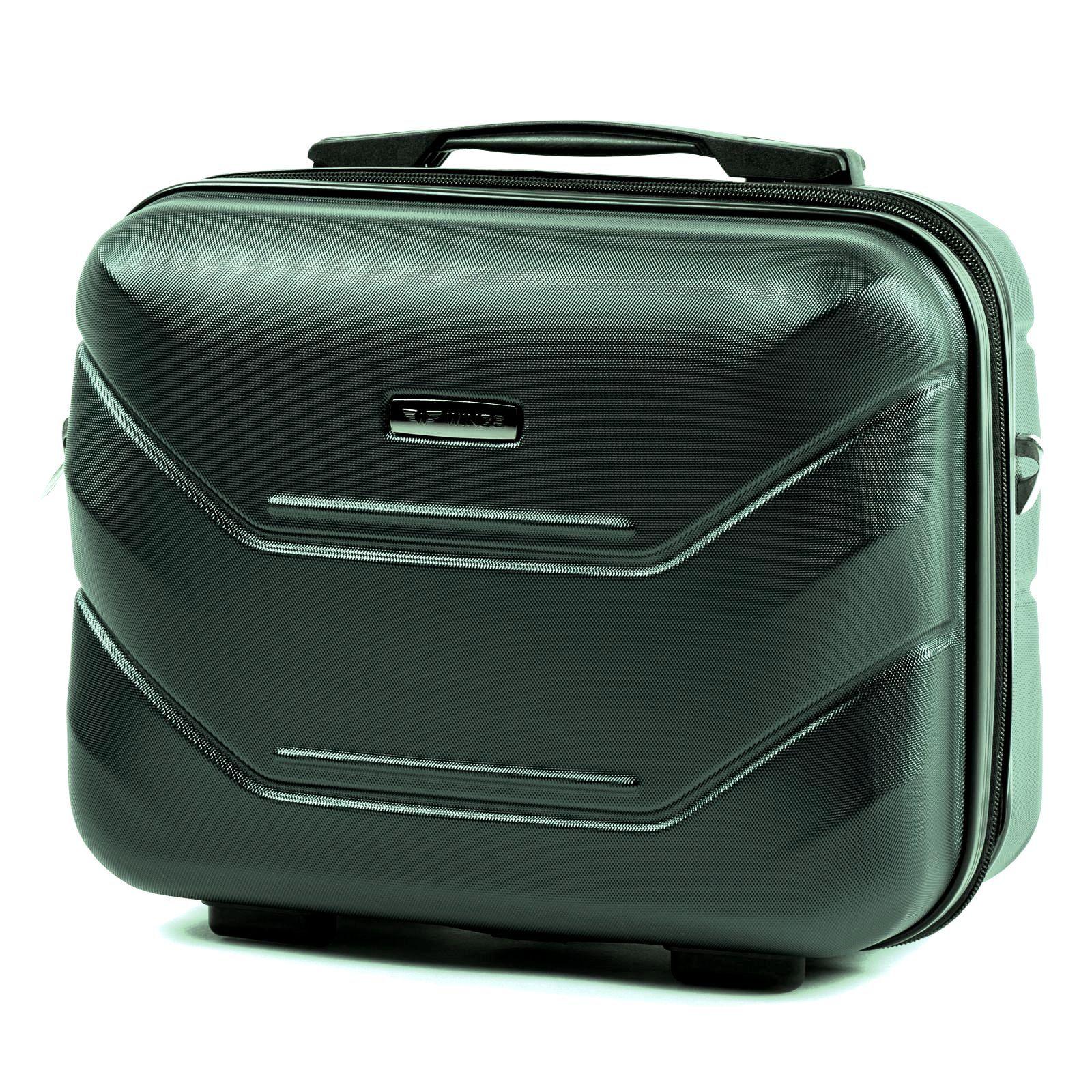 Kosmetický kufřík WINGS 147 ABS DARK GREEN