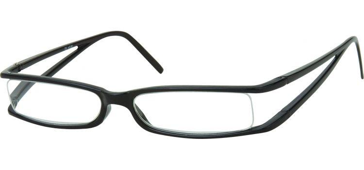 MONTANA EYEWEAR Dioptrické brýle R13B Black +1,50