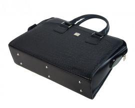 PUNCE LC-01 černá matná dámská kabelka pro notebook do 15.6 palce E-batoh