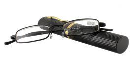 Dioptrické brýle v pouzdru Panorama 2134/ +2,25 černé