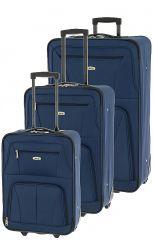 Cestovní kufry set 3ks Dielle S,M,L E-batoh
