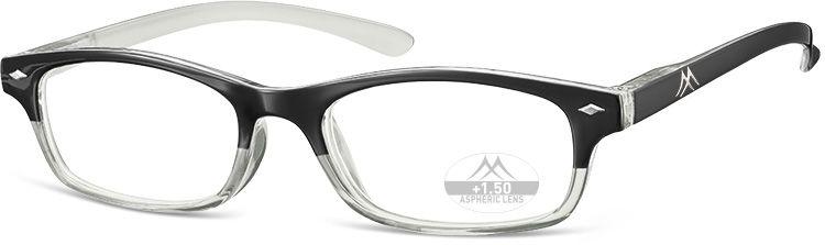 MONTANA EYEWEAR Dioptrické brýle R20 Black/ +3,50