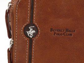 Taška crossbody kožená BHPC Explore S Beverly Hills Polo Club E-batoh
