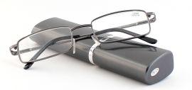 Dioptrické brýle v pouzdru Respect 008/ +2,75 dark green