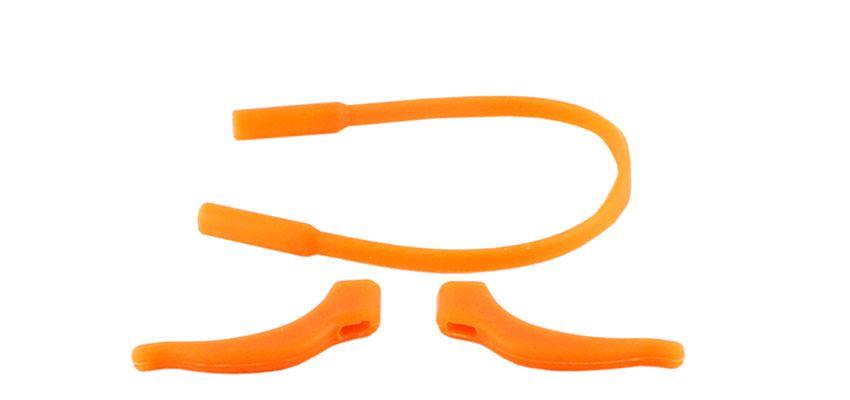 Protiskluzové silikonové nástavce na brýle oranžová E-batoh