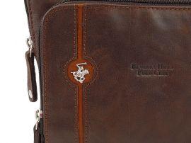 Taška crossbody kožená BHPC Explore L Beverly Hills Polo Club E-batoh