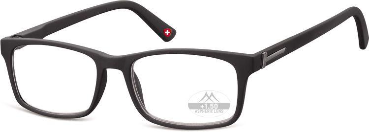 MONTANA EYEWEAR Dioptrické brýle HMR73 BLACK+1,50 flex