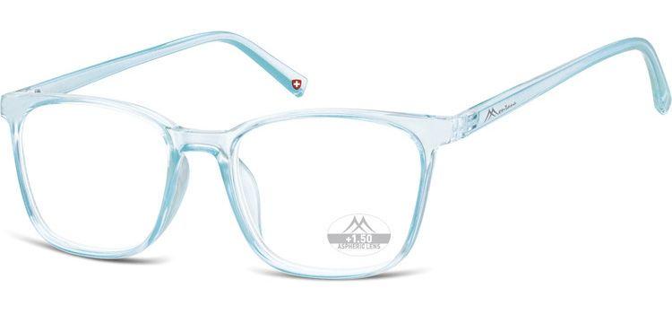 MONTANA EYEWEAR Dioptrické brýle HMR56A LIGHT BLUE/ +2,00