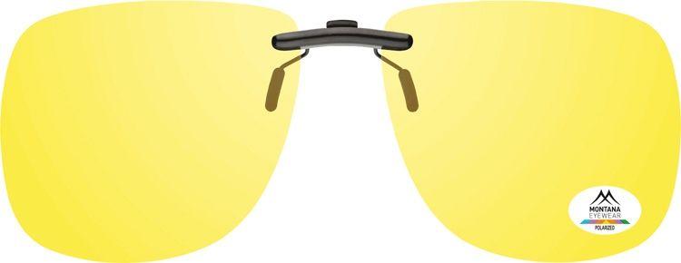 MONTANA EYEWEAR Polarizační KLIP M NA BRÝLE C1C- na noční vidění pro řidiče